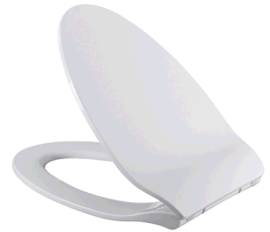 Scratch-Resistant High Gloss Soft Close PP Toilet Seat pictures & photos