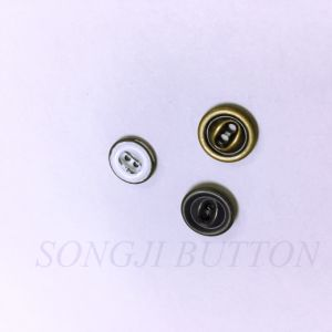 Fashion Accessories 2 Hole Brass Shank Button pictures & photos
