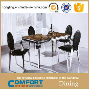 Modern Home Furniture Dining Table Set (A8029) pictures & photos