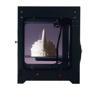 Whole Sealing LCD-Touch Fdm Desktop 3D Printer From Factory pictures & photos