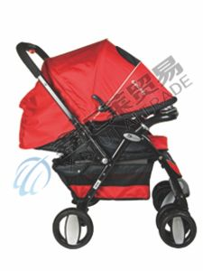 En1888 Approved 3 Position Adjustable Backrest Baby Stroller pictures & photos