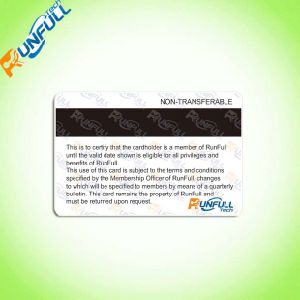 Cr80 PVC Barcode Offset Printing Card for Membership Card pictures & photos