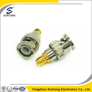 BNC Female to SMA Male Adapter Convertor RF Connector pictures & photos