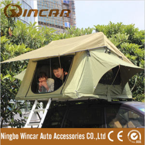 Waterproof Canvas Car Roof Top Tent Camping Car Roof Top Ten pictures & photos
