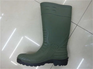 PVC Steel Toe Wellington Safety Gumboots for Construction pictures & photos