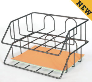 Desk Accessories for Office/ Metal Mesh Stationery File Rack/ Office Desk Accessories pictures & photos