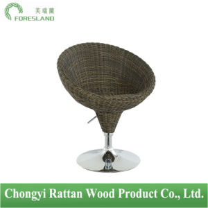 PE Rattan Bar Chair Counter Stool PS-14 pictures & photos