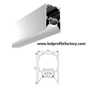 5075-C LED Profile Linear Light Channel Aluminum Extrusion pictures & photos