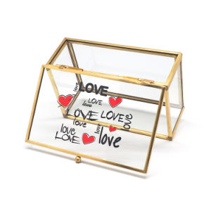 Wholesale Color Glass Jewelry Box for Gift pictures & photos