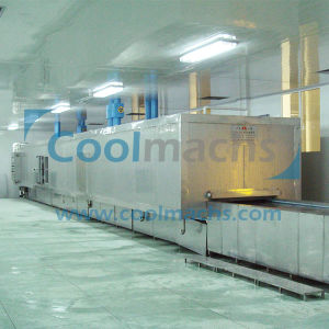 Shrimp Fish Fast Freezing Machine/ Blast Freezer/ Tunnel Quick Freezer pictures & photos