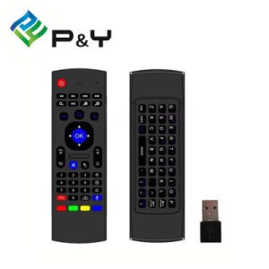 Factory TV Used Mx3 2.4G Wireless Keyboard Air Fly Mouse Remote Control Mxq pictures & photos