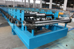 Composite Decking Floor Roll Forming Machine pictures & photos