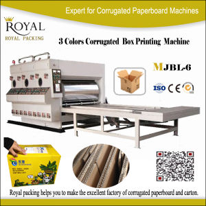 Carton Box Printing Machine Slotting Machine pictures & photos
