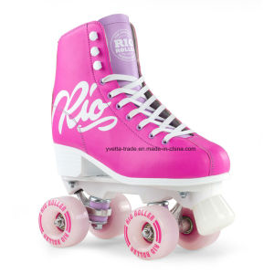 Quad Roller Skate with Different Color for Sales (YVQ-002) pictures & photos