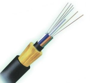 ADSS Optical Fiber Cables 1-24 Cores High Strength Self-Supporting 100m, 300m, 500m -1500m Span pictures & photos