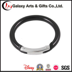 2inch Black Small Zinc Alloy/Metal/Aluminum Round Carabiner pictures & photos