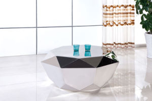 Unique Diamond Shape Stainless Steel Coffee Table pictures & photos