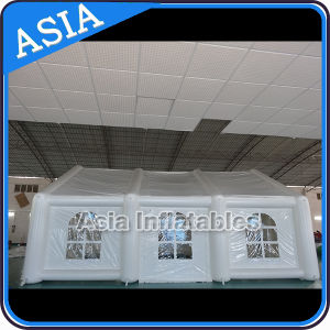 Large White Portable Inflatable Warehouse/ Inflatable Tunnel Wedding/ Camping Tent pictures & photos