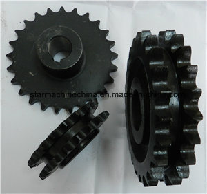 Heat Treatment Roller Chain Sprocket with Durable Quality (DIN, ANSI, ISO) pictures & photos