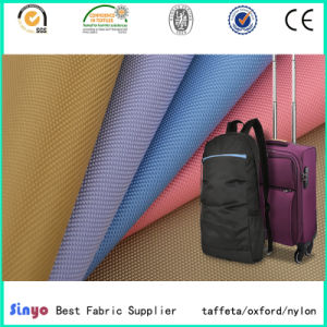 Hot Sale Oxford Tela PU/PVC Coated Double Yard 1680d Luggage Fabric pictures & photos