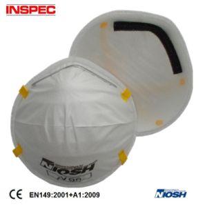 Dust Mask with Active Carbon Ffp1 Ffp2 Ffp3 (MX2002) pictures & photos
