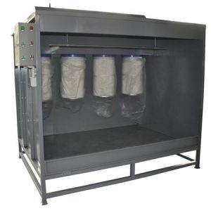 Powder Spray Booth for Metal Coating pictures & photos