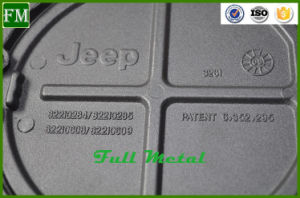 Black Powder-Coated Fuel Tank Door Cover for Jeep Wrangler pictures & photos
