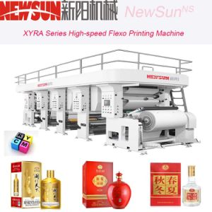 Xyra-1270 High-Speed Cigarette Package Flexo Line Printing Machine pictures & photos