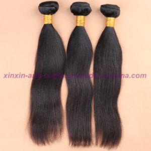 8A Grade Indian Virgin Hair Straight Human Hair Extensions Hair Weaving Hair Wefts pictures & photos