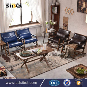 Modern Hotel Restaurant Living Room Furniture Wooden Leisure Chair Sbe-Cy0339 pictures & photos