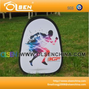 Triangle Pop up a Frame Banner for Outdoor Sports pictures & photos