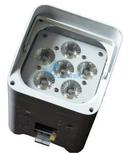 Mini LED PAR WiFi Battery 6PCS Wireless Light for Wedding pictures & photos