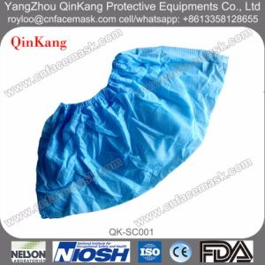 Disposable Non-Woven Elastic Shoe Covers for Hospital pictures & photos