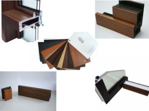 Wooden Grain Laminating PVC Film for U-PVC Window Profiles pictures & photos