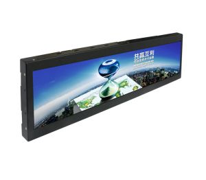 Many Sizes Available! Stretched Bar Ultra-Wide LCD Display for Bus/Metro/Train Advertising Ce RoHS pictures & photos