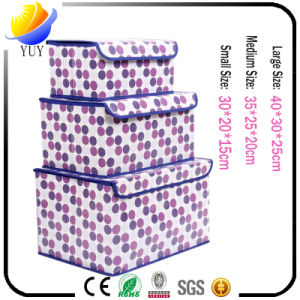 Multifunctional Non Woven Foldable Open Window and Waterproof Oxford Cloth Storage Box pictures & photos