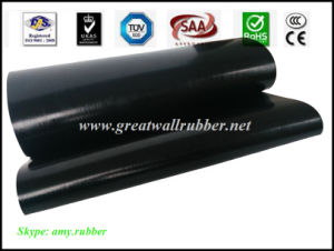 Smooth-Surface Insulating Rubber Sheet Floor Mat, Electrical Insulating Matting pictures & photos