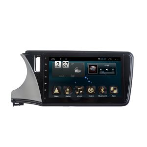 Android System 6.0 GPS Navigation Car DVD for Honda City 2015 10.1inch Capacitance Screen with WiFi/TV/Bluetooth