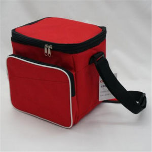 Simple Diagonal Ice Pack Thermal Insulation Bag Lunch Bag (GB#165) pictures & photos
