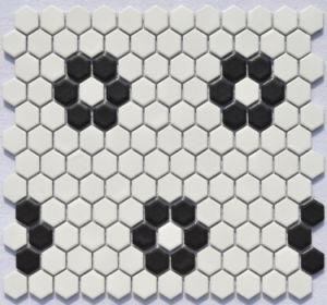 Hexigon Ceramic Mosaic pictures & photos