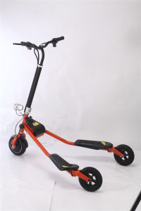 Hub Motor Electric Stand Drift Scooter for Kids Use pictures & photos