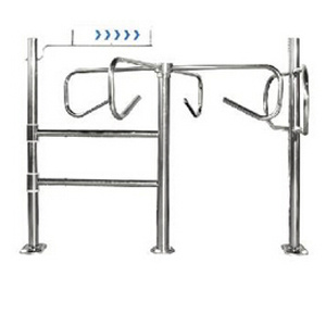 Metal Turnstile Swing Gate Entrace Gate Guide Doors 1058