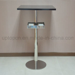Stainless Steel Bar Table with Storage Rack (SP-BT689) pictures & photos