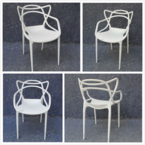 White Black or Brown Plastic Resin Wimbledon Event Folding Chair for Wedding (YC-P50) pictures & photos
