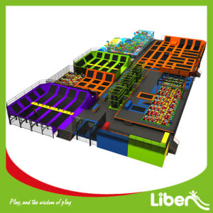 Customized Large Indoor Trampoline Park pictures & photos