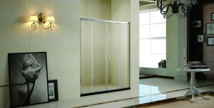 Square Temper Glass Shower Enclosure with Shower Tray (K-709) pictures & photos