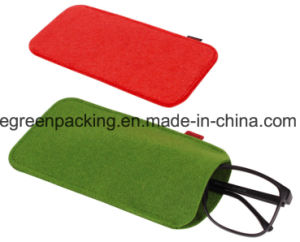 Felt Pouch, Bag, Case for Eyeglasses /Sunglasses Custom Brand with Label (F4) pictures & photos