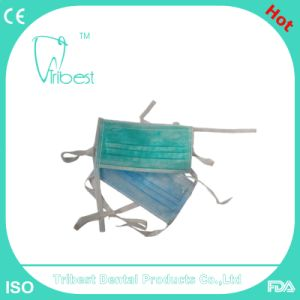 Disposable Earloop/Tie-on Non-Woven Face Mask pictures & photos