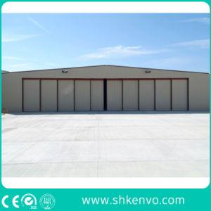 PU-Panel Automatic Sliding Aircraft Hangar Door pictures & photos