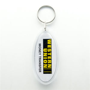 Customized Fashion Fabric/Woven/Embroidery Key Chain/Ring pictures & photos